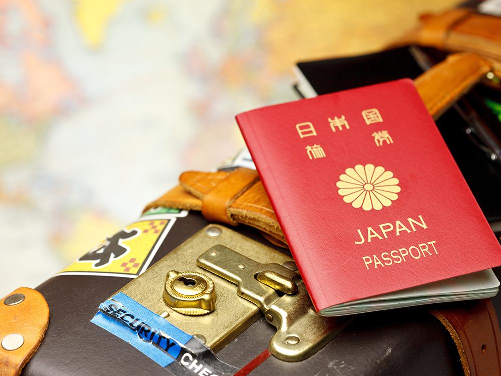 旅行準備の荷物