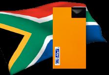 海外用WiFi南アフリカ用端末イメージ