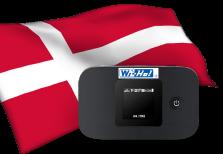 海外用WiFiデンマーク用端末イメージ