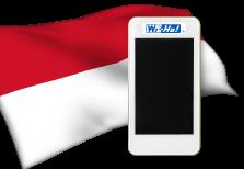 海外用WiFiインドネシア用端末イメージ