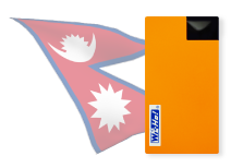 海外用WiFiネパール用端末イメージ