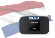 海外用WiFiオランダ用端末イメージ