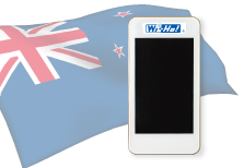 海外用WiFiニュージーランド用端末イメージ