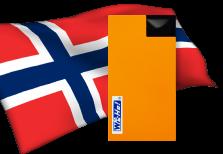 海外用WiFiノルウェー用端末イメージ