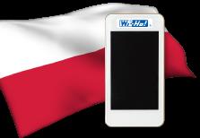 海外用WiFiポーランド用端末イメージ