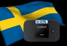 海外用WiFiスウェーデン用端末イメージ