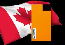 海外用WiFiカナダ用端末イメージ