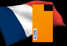 海外用WiFiフランス用端末イメージ