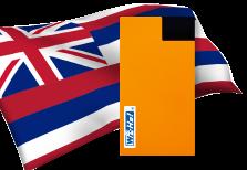 海外用WiFiハワイ用端末イメージ