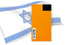 海外用WiFiイスラエル用端末イメージ