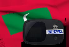 海外用WiFiモルディブ用端末イメージ