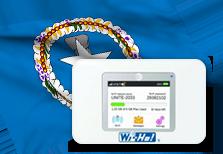 海外用WiFiサイパン用端末イメージ