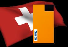 海外用WiFiスイス用端末イメージ
