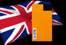 海外用WiFiイギリス用端末イメージ